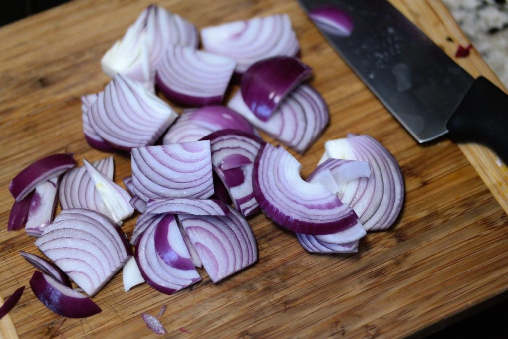 chopped-onion