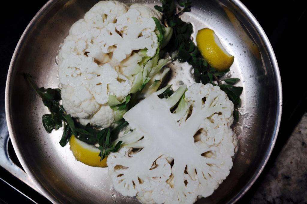 cauliflower in pan_1350x900