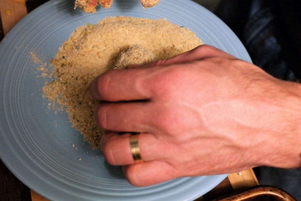 roll-in-bread-crumbs